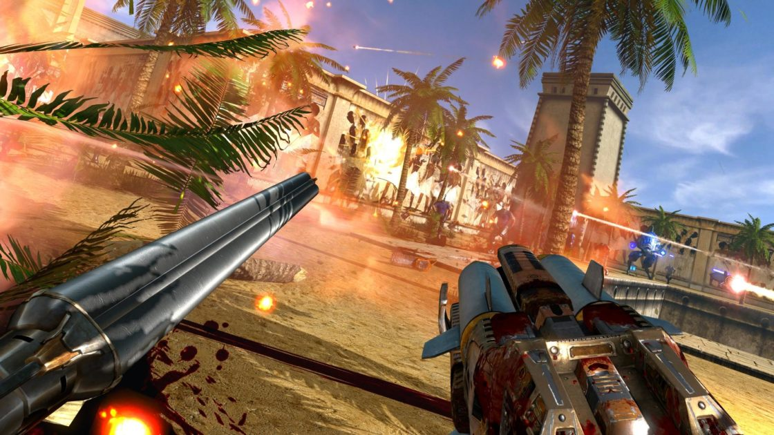 Скрин из игры Serious Sam VR: The First Encounter
