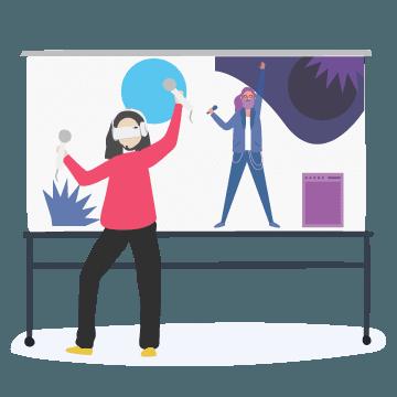 Погружение в VR шлеме