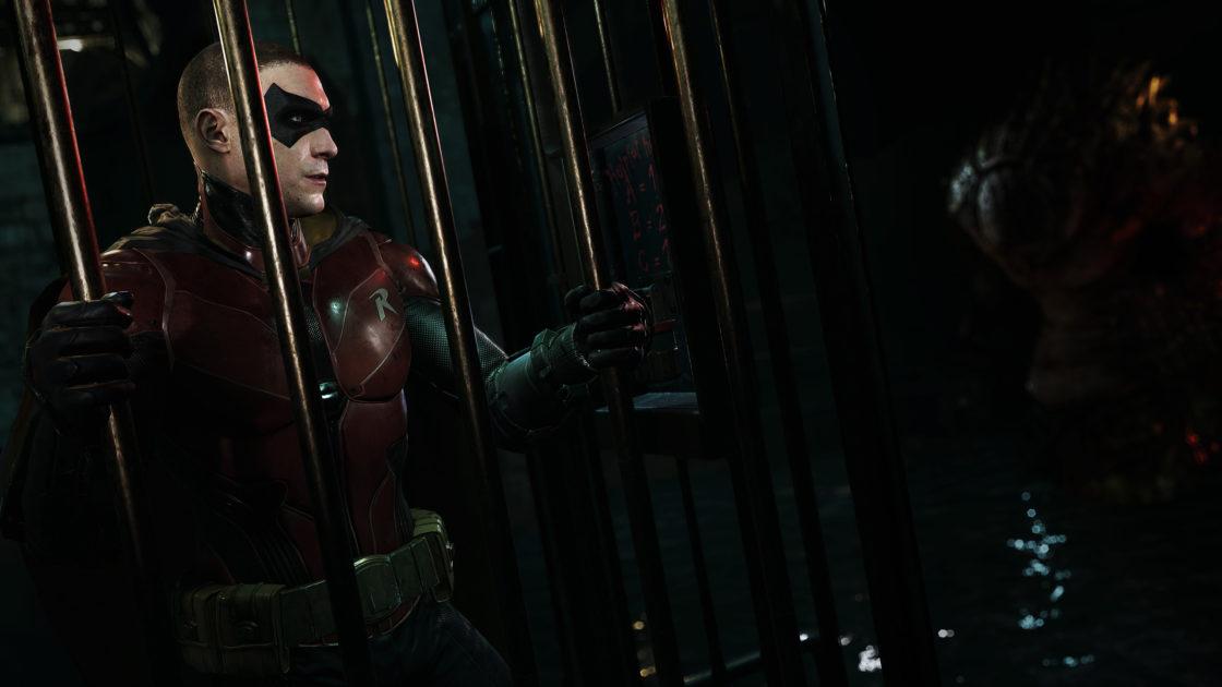 Скрин из игры Batman: Arkham VR