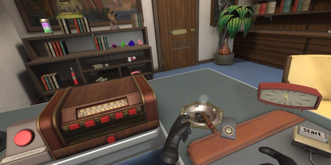 Стартовая локация в игре I expect you to die!