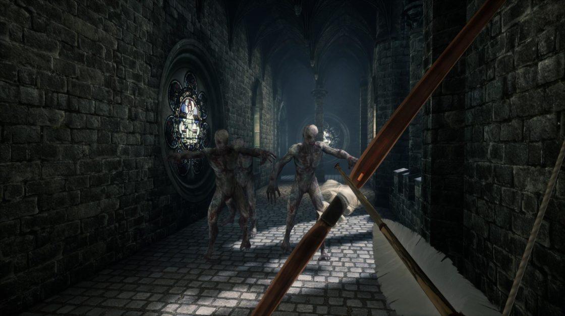 Скрин из игры In Death