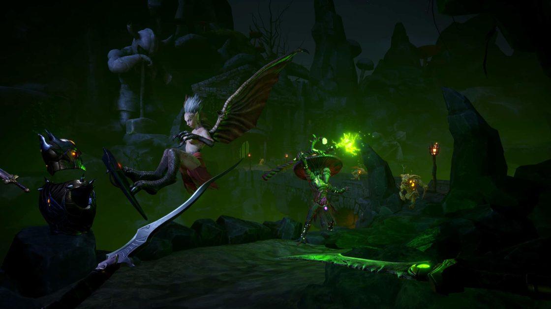 Скрин из игры Karnage chronicles