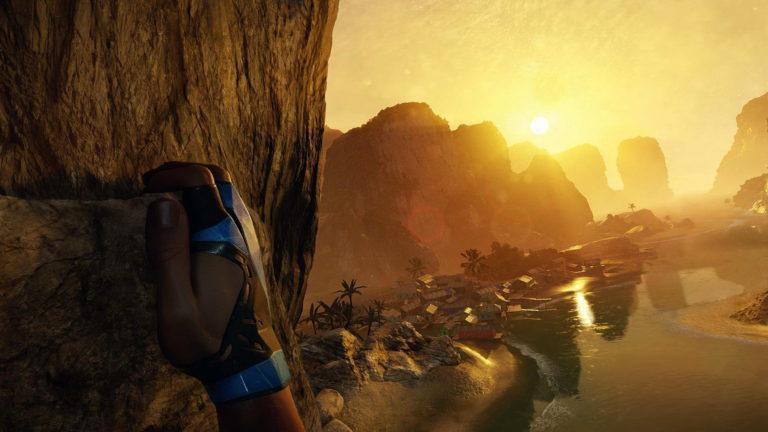 Обложка для игры The Climb