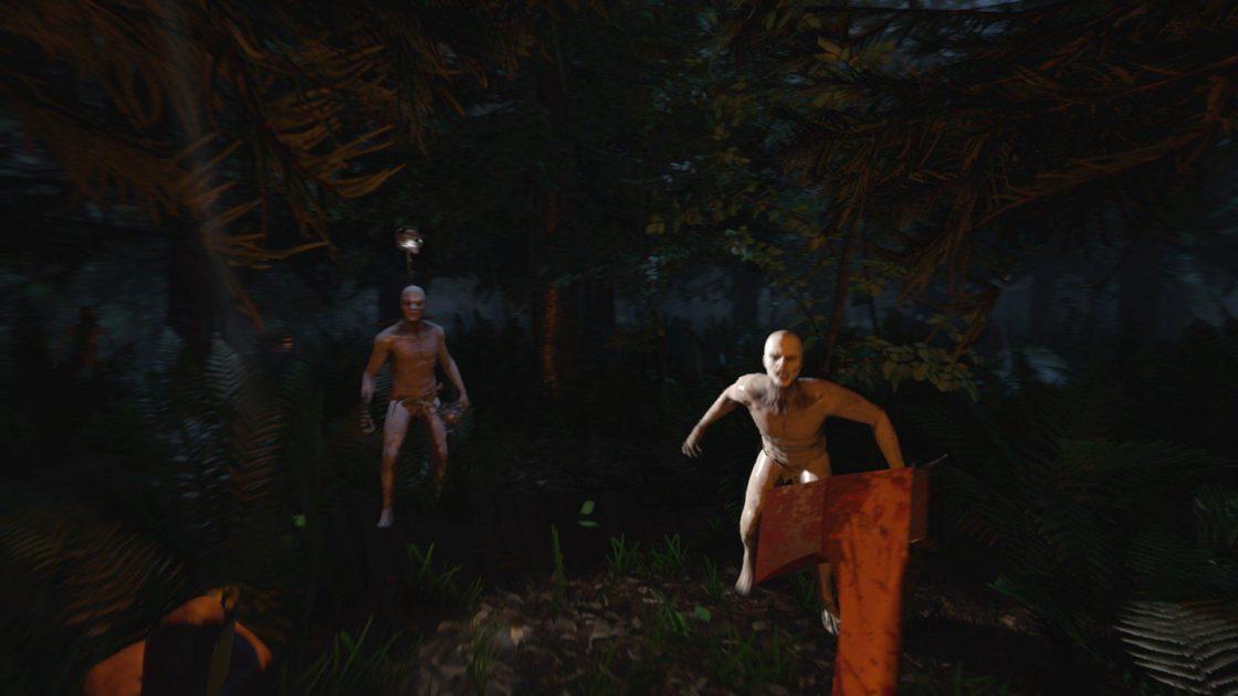 Скрин из игры The forest