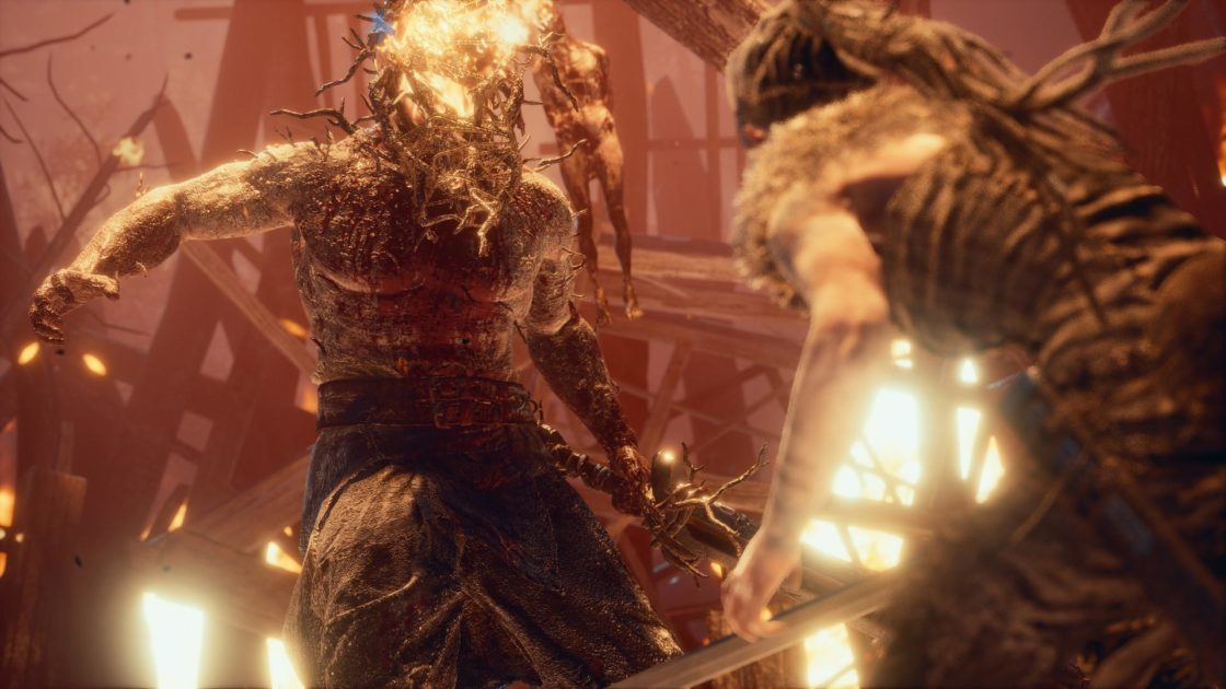 Скрин из игры Hellblade: Senua's Sacrifice