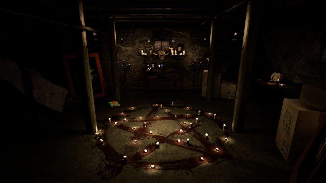 Скрин из игры Paranormal Activity