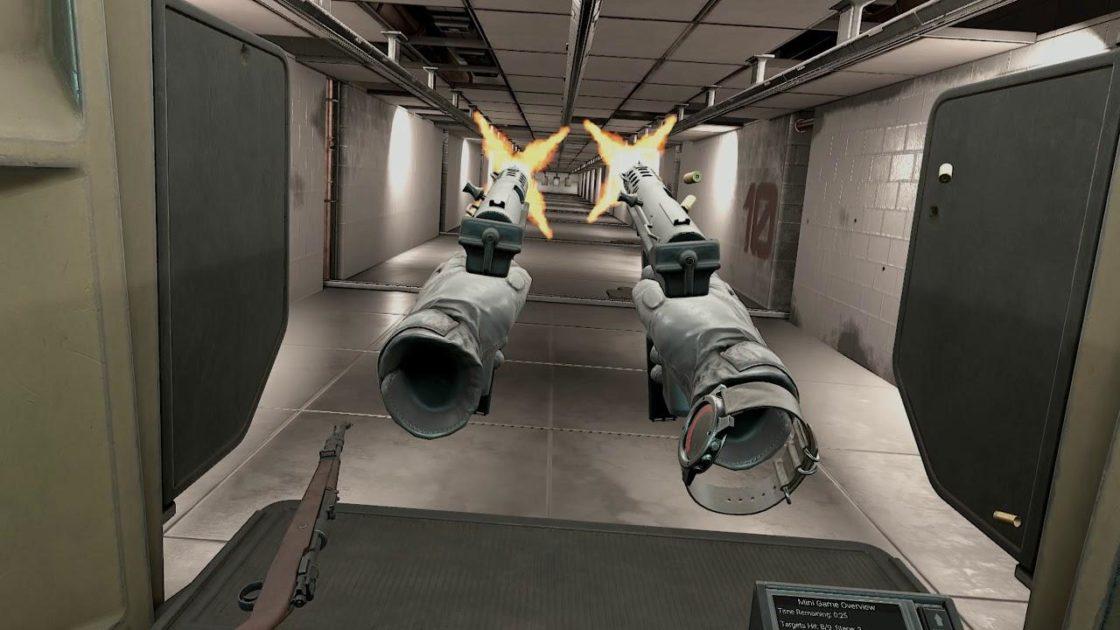 Скрин из игры Pavlov VR