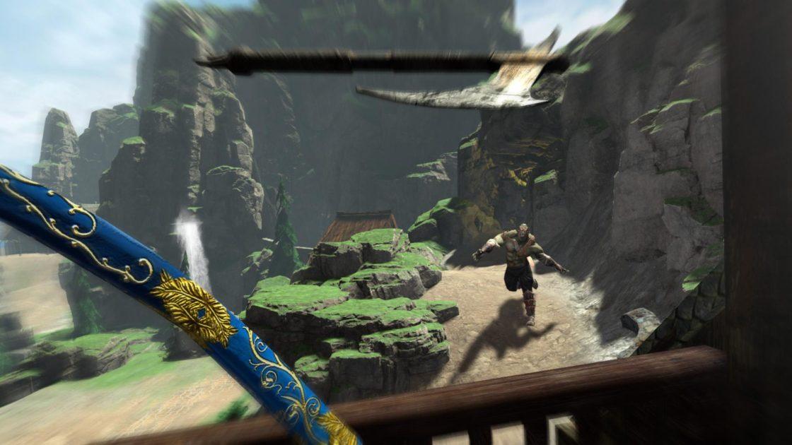 Скрин из игры Elven Assassin