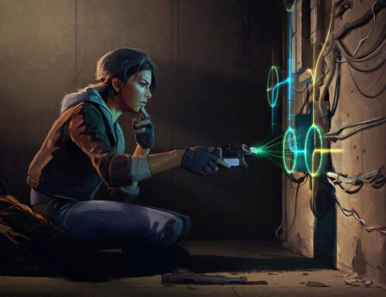 Скрин из игры Half-Life: Alyx