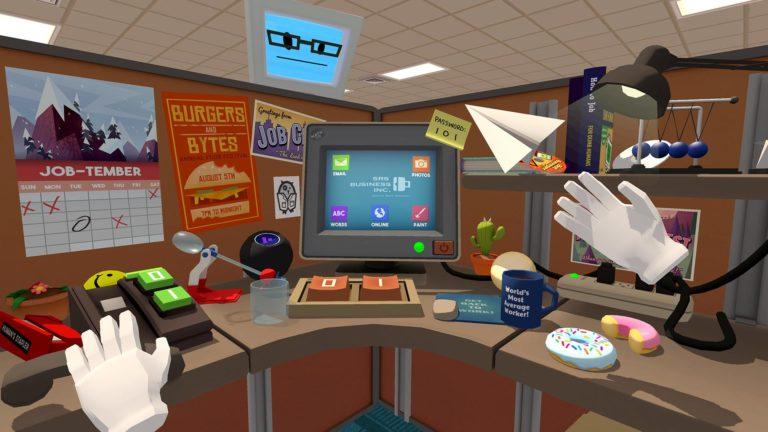 Обложка игры Job Simulator
