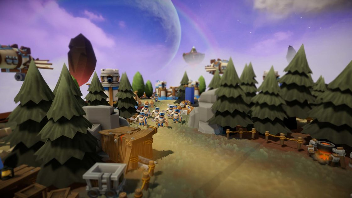 Скрин из игры SkyWorld