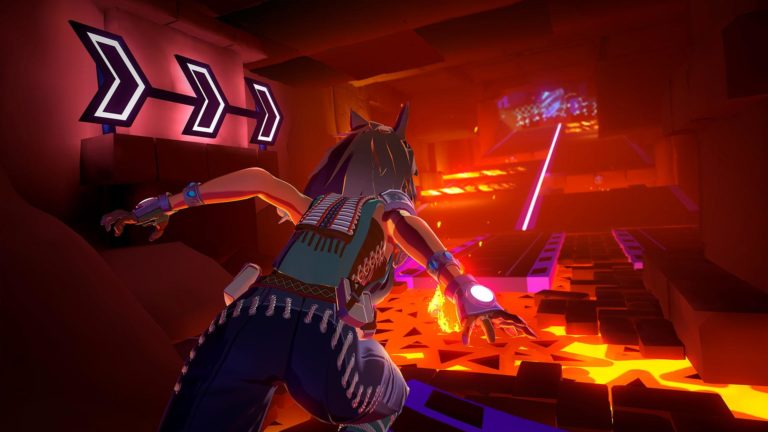 Скрин из игры Sprint Vector