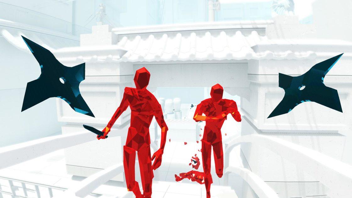 Скрин из игры Superhot VR