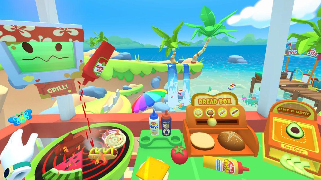 Скрин из игры Vacation Simulator